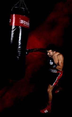 worek treningowy bokserski ćwiczenia