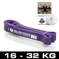 Guma Treningowa DBX BUSHIDO Power Band -  FIOLETOWA DO 25 KG