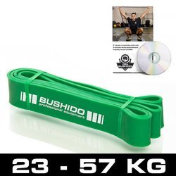 Guma Treningowa DBX BUSHIDO Power Band - guma ZIELONA DO 36 KG
