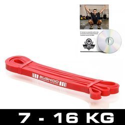 Guma treningowa Power Band - guma CZERWONA DO 9 KG