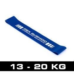 Power Band MINI  - Guma Treningowa  do ćwiczeń mobility - NIEBIESKA 13-20 kg
