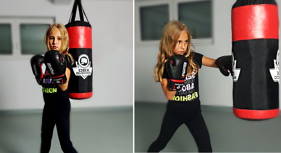 worek bokserski dla dzieci