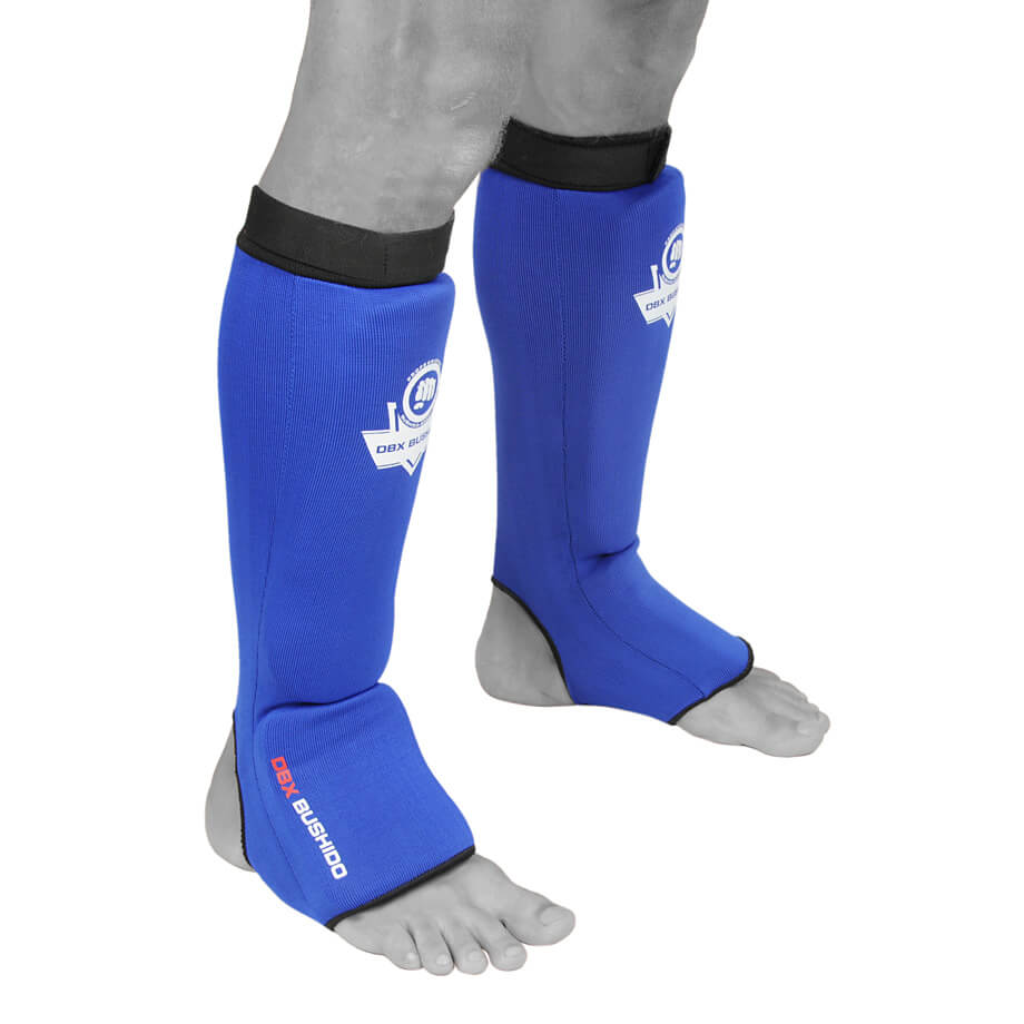 ochraniacze elastyczne na golenie i stopę