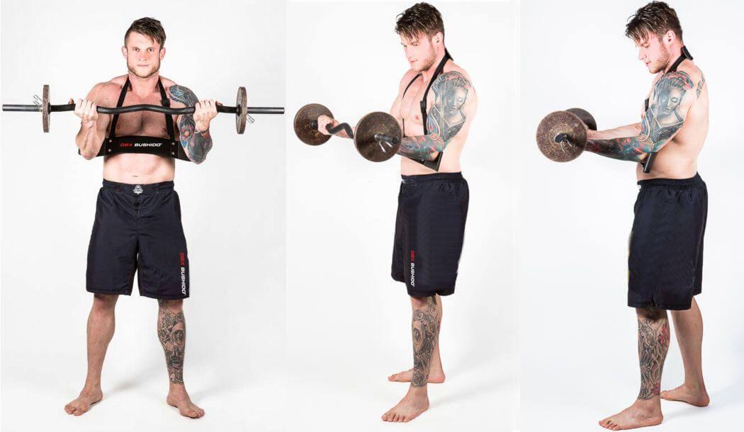 trening bicepsa - arm blaster