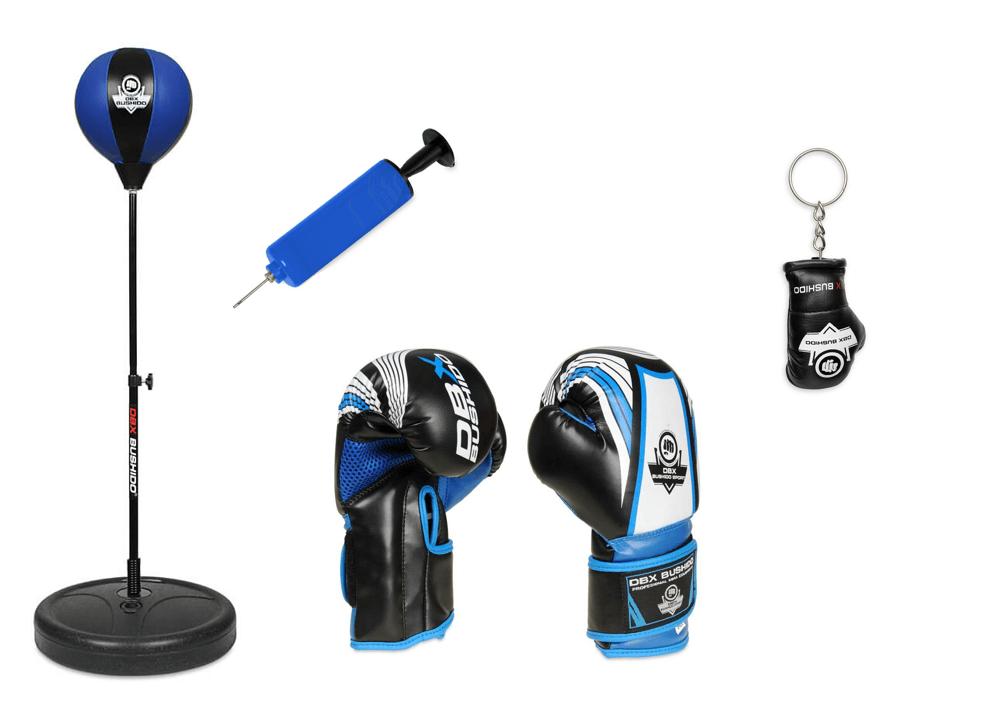 gruszka bokserska stojaca - zestaw