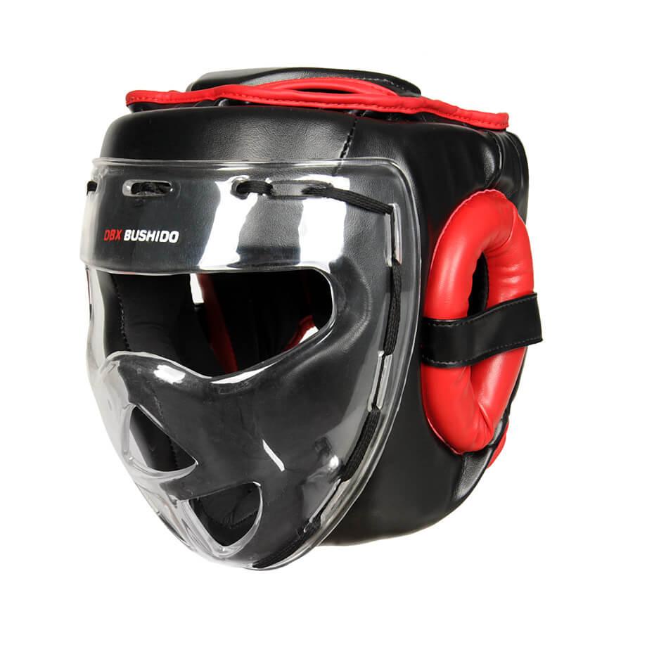 kask treningowy z maską