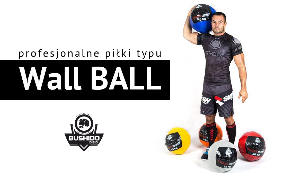 PIŁKA WALL BALL 9 KG - 20lbs