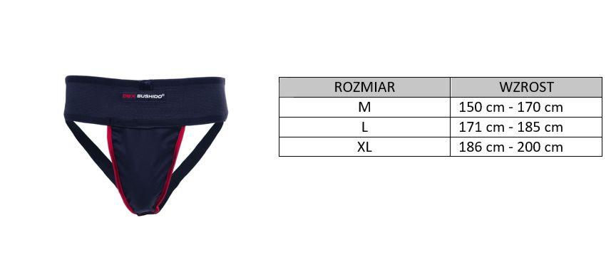 suspensor - rozmiary