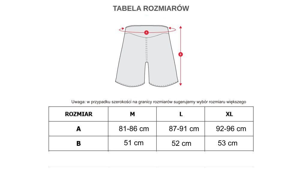 SPODENKI TRENINGOWE -  SZORTY MMA, CROSSFIT  - MODEL S3  XL