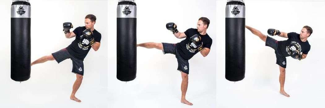 worek treningowy do kickboxingu