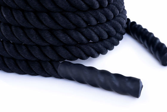 Lina Treningowa - Power Rope - Battle Rope Polyester- Nylon 40mm 9M - 8,1 KG